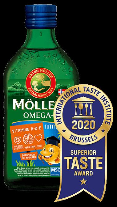 Möller's Omega-3 Tutti Frutti - Superior Taste Award