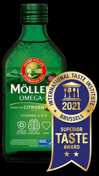 Möller's Omega-3 Citroen levertraan met de beste smaak