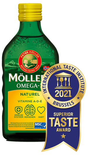 Möller's Omega-3 Naturel met Superior Taste Award