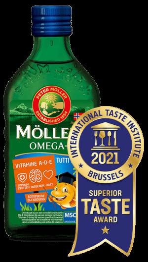 Möller's Omega-3 Tutti Frutti met Superior Taste Award
