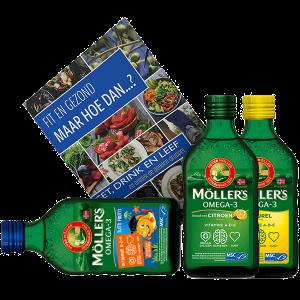 Möller's Lifestylebooster Pakket 3x 250ml + Boek
