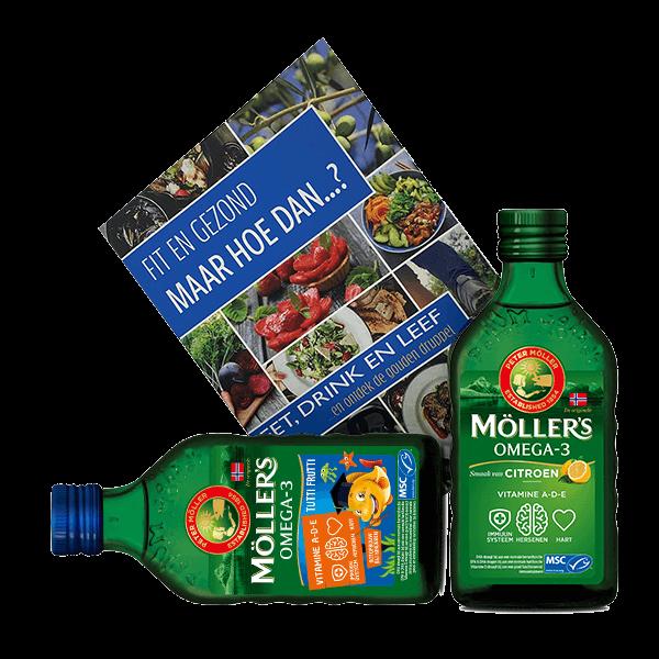 Möller's Lifestylebooster Pakket 2x 250ml + Boek