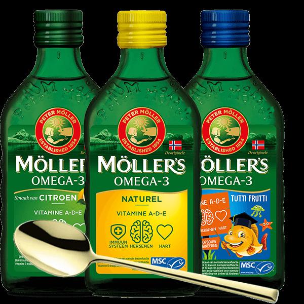 Möller's Pakket met Gouden Lepel