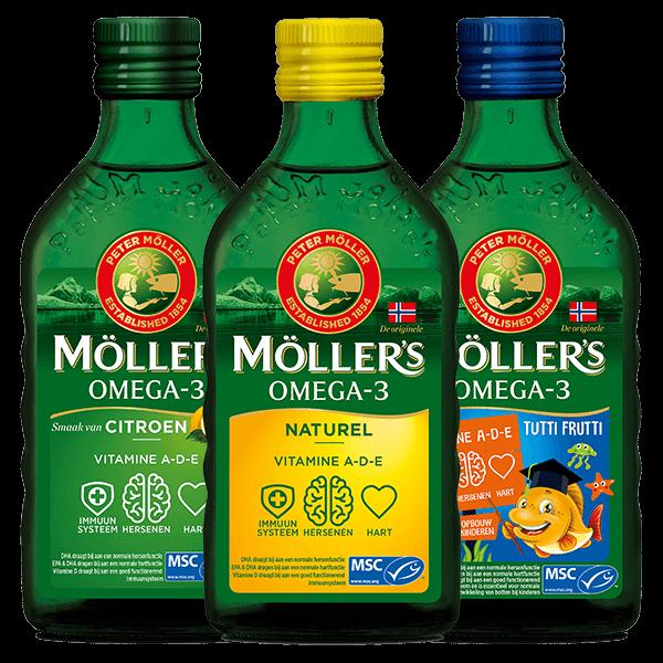 Möller's Omega-3 Weerstandboosterpakket