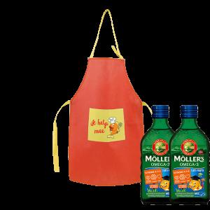 Möller's Kidspakket met gratis kookschortje