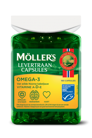 Möller's Omega-3 Levertraancapsules