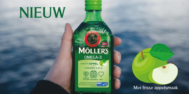 NIEUW: Möller's Omega-3 Appel
