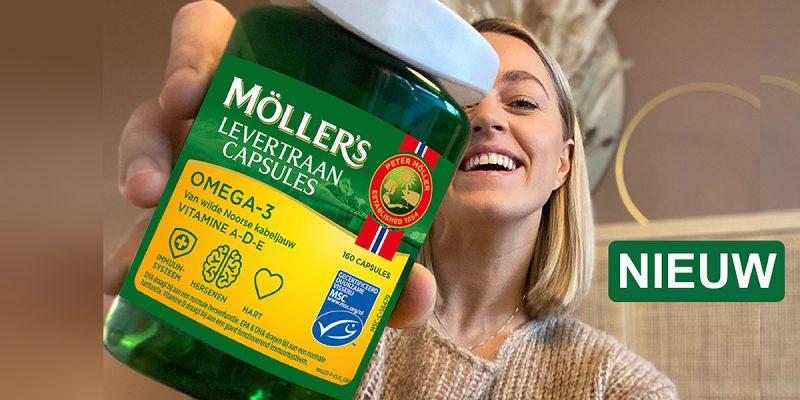 NIEUW: Möller's Levertraancapsules