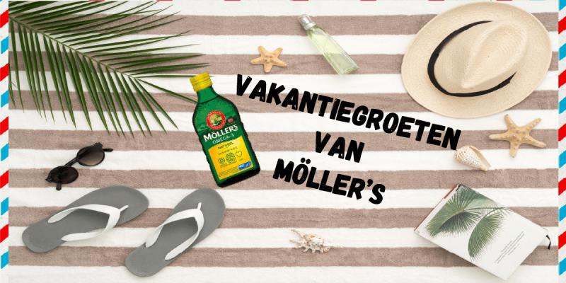 Vakantiegroet van Möller's | Fijne vakantie!