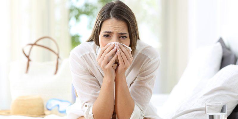 Zomerverkoudheid, keelpijn, snotneus, hoesten: omega-3 helpt!
