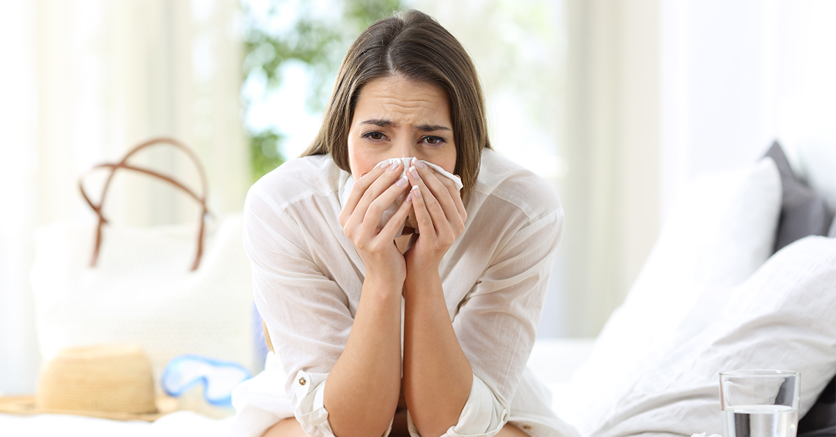 Zomerverkoudheid, omega-3 helpt